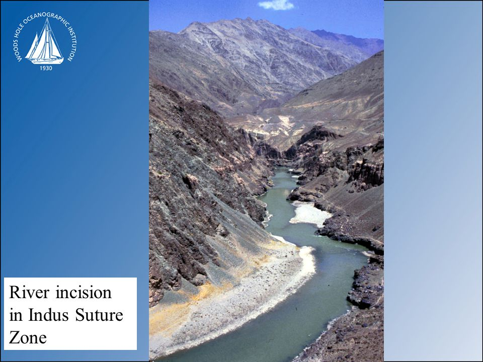 River incision in Indus Suture Zone
