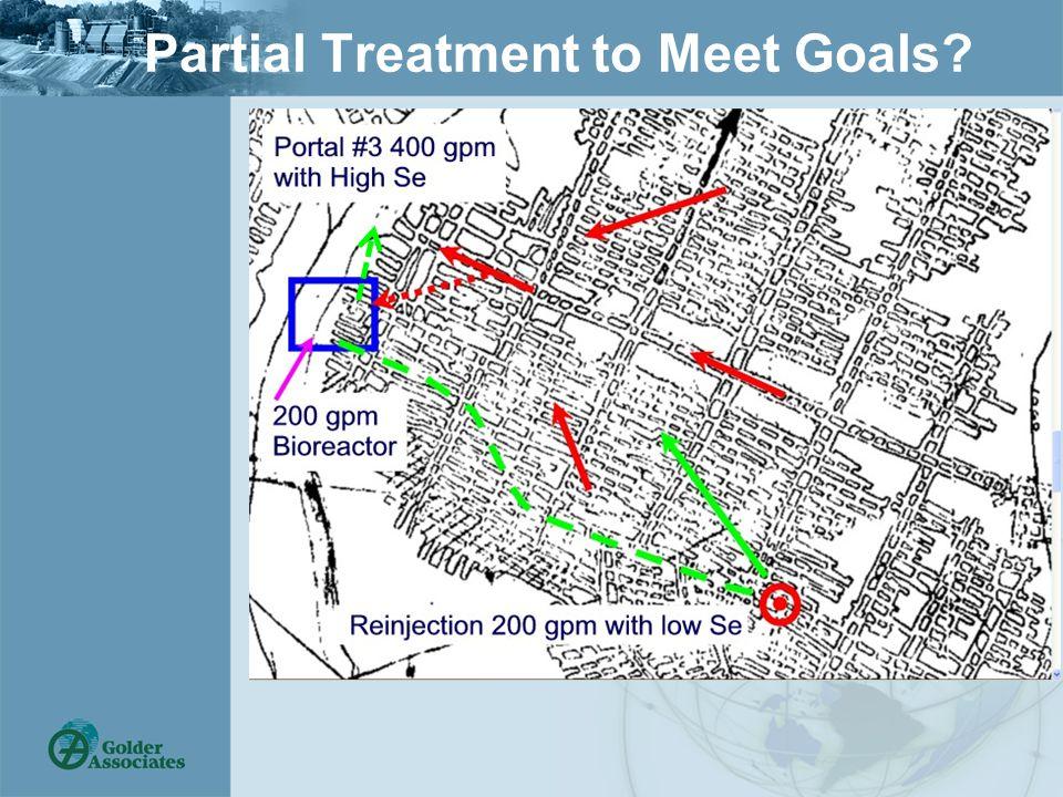 Partial Treatment to Meet Goals?