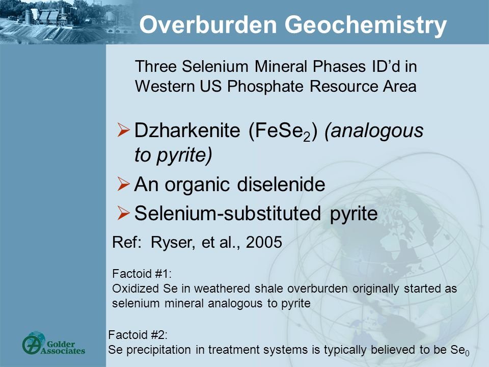 Conclusions  There is no silver bullet for selenium removal to low levels  Selenium can be removed to <10 µg/L  All sites must be evaluated individually  Pure paper designs are risky – bench & pilot development work always recommended  Cost of selenium reduction to low levels is decreasing
