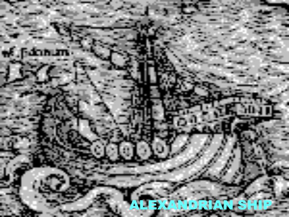 ALEXANDRIAN SHIP
