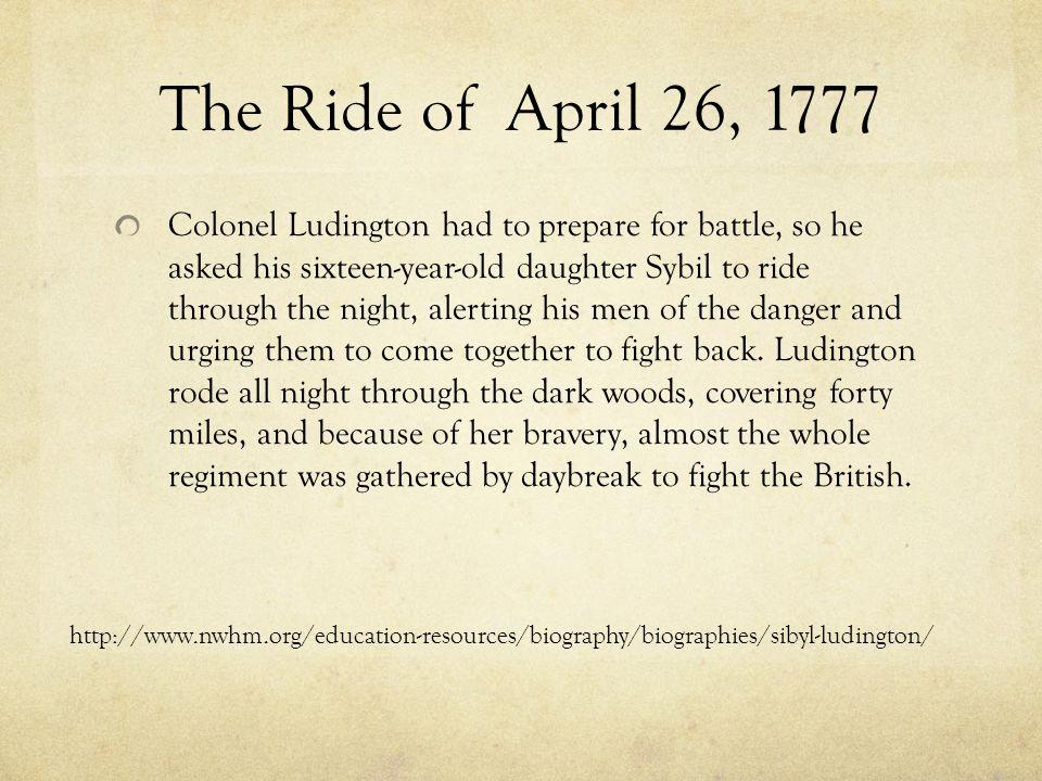 Biography Born in 1761 in Connecticut, Eldest of twelve children.