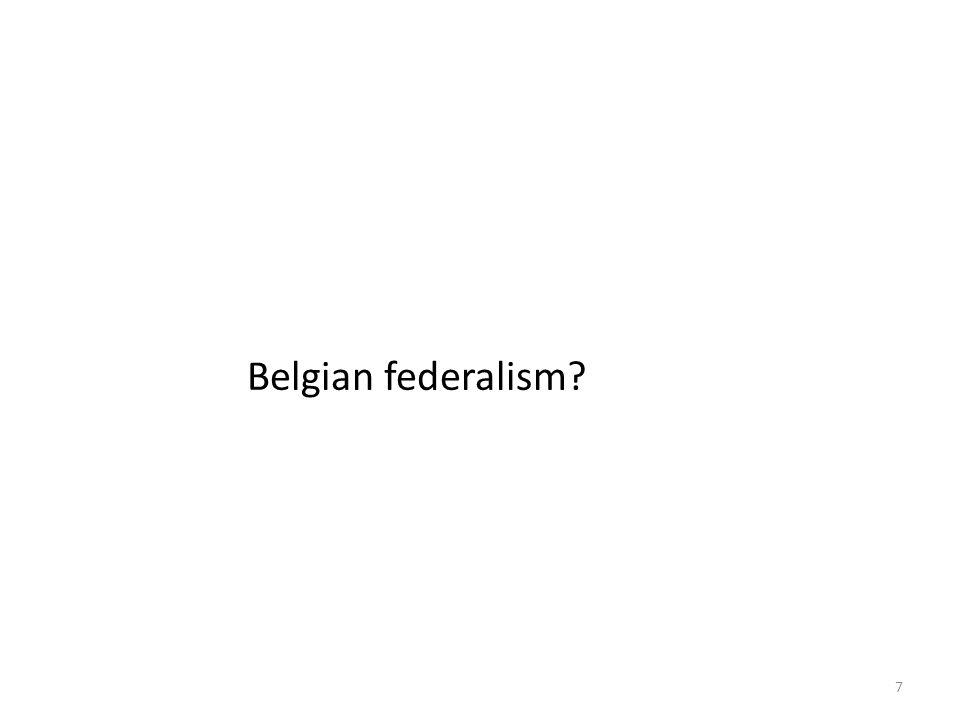 7 Belgian federalism
