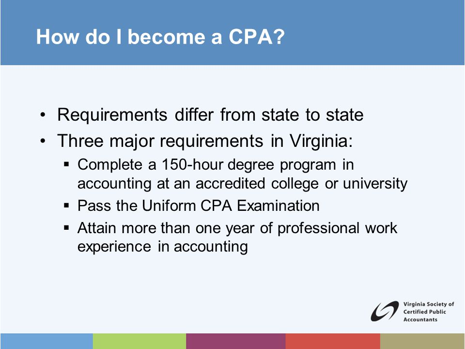 How do I become a CPA.