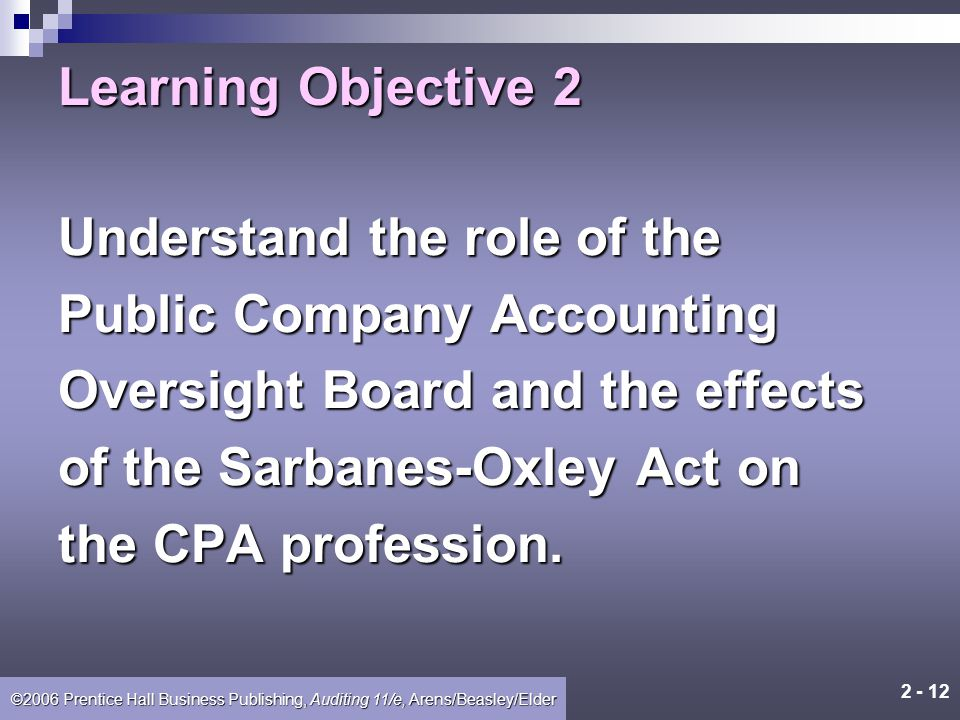 2 - 11 ©2006 Prentice Hall Business Publishing, Auditing 11/e, Arens/Beasley/Elder E-Commerce and CPA Firm Operations CPA firms are using the Internet