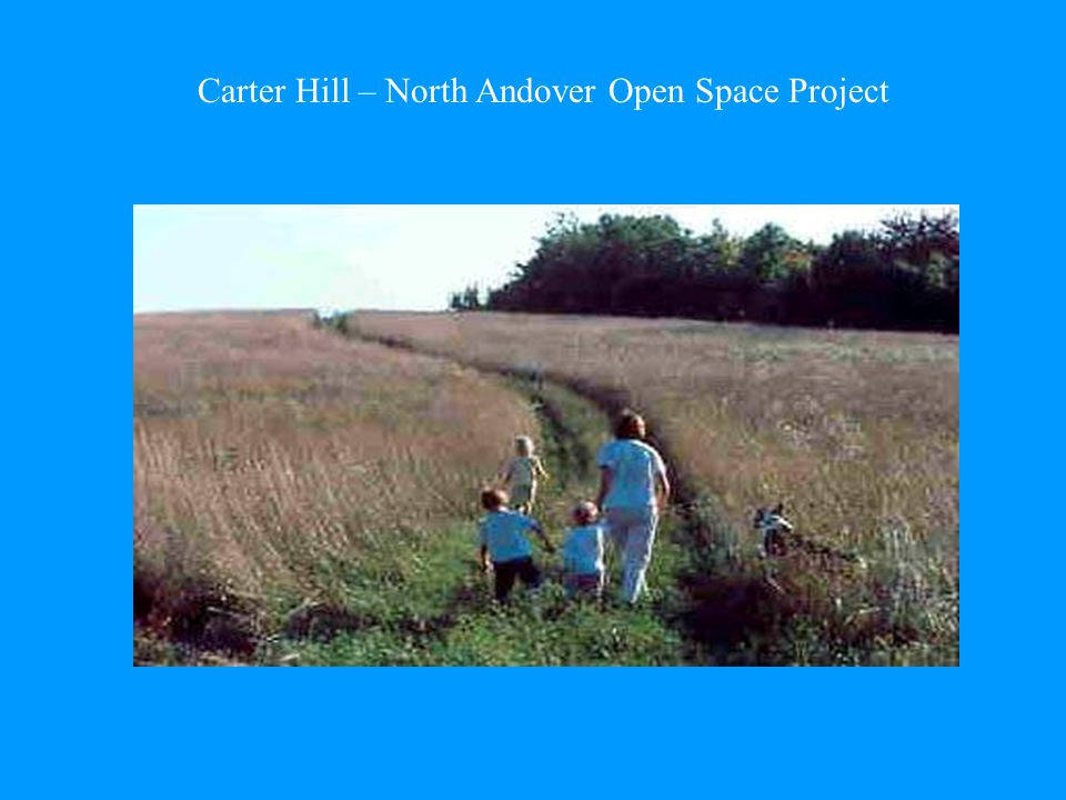 Carter Hill – North Andover Open Space Project