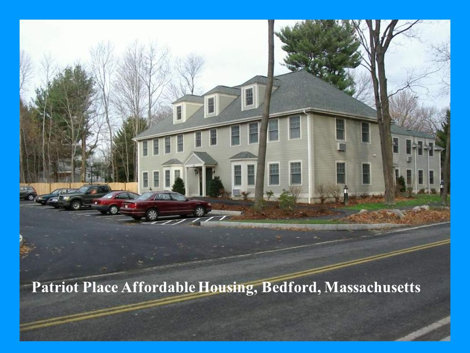 Patriot Place Affordable Housing, Bedford, Massachusetts