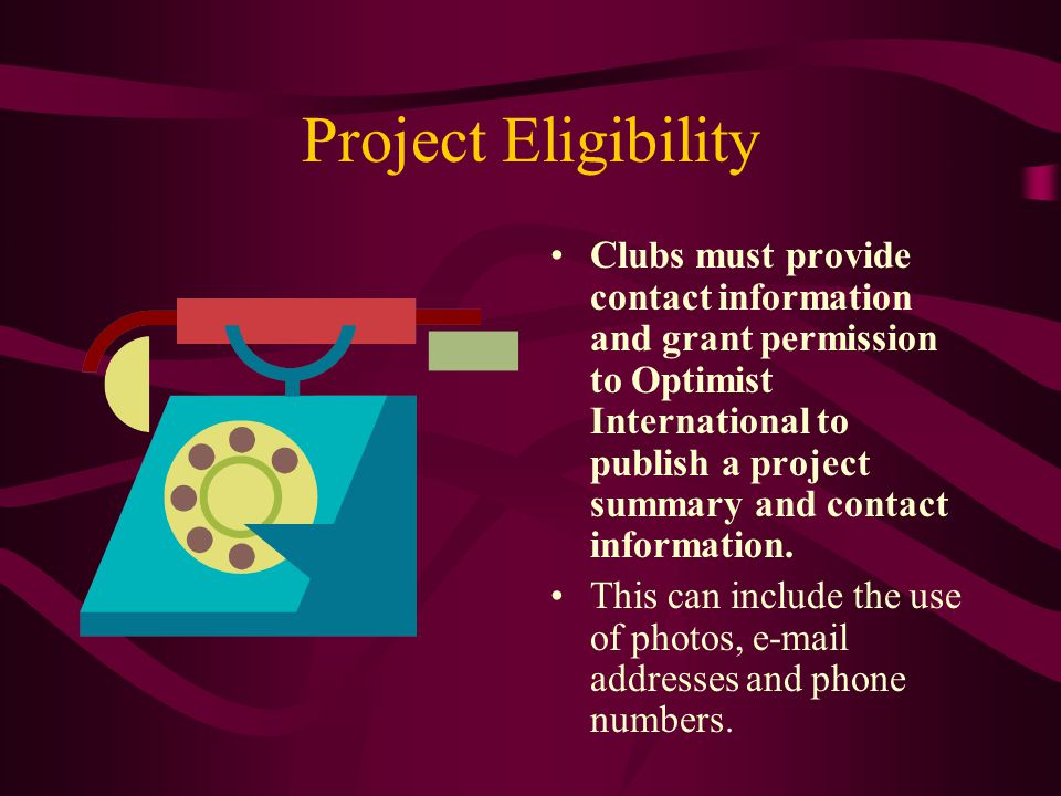 Project Story Questions 12.List any recommendations for Clubs running this project.