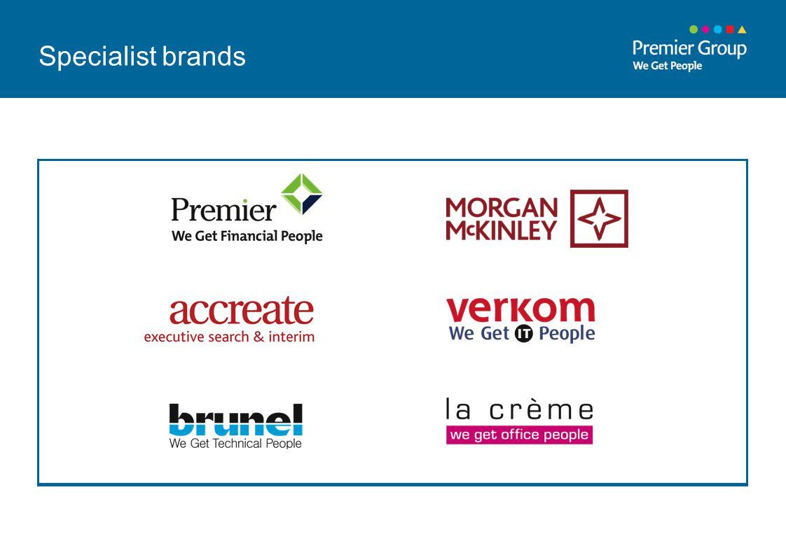 Specialist brands