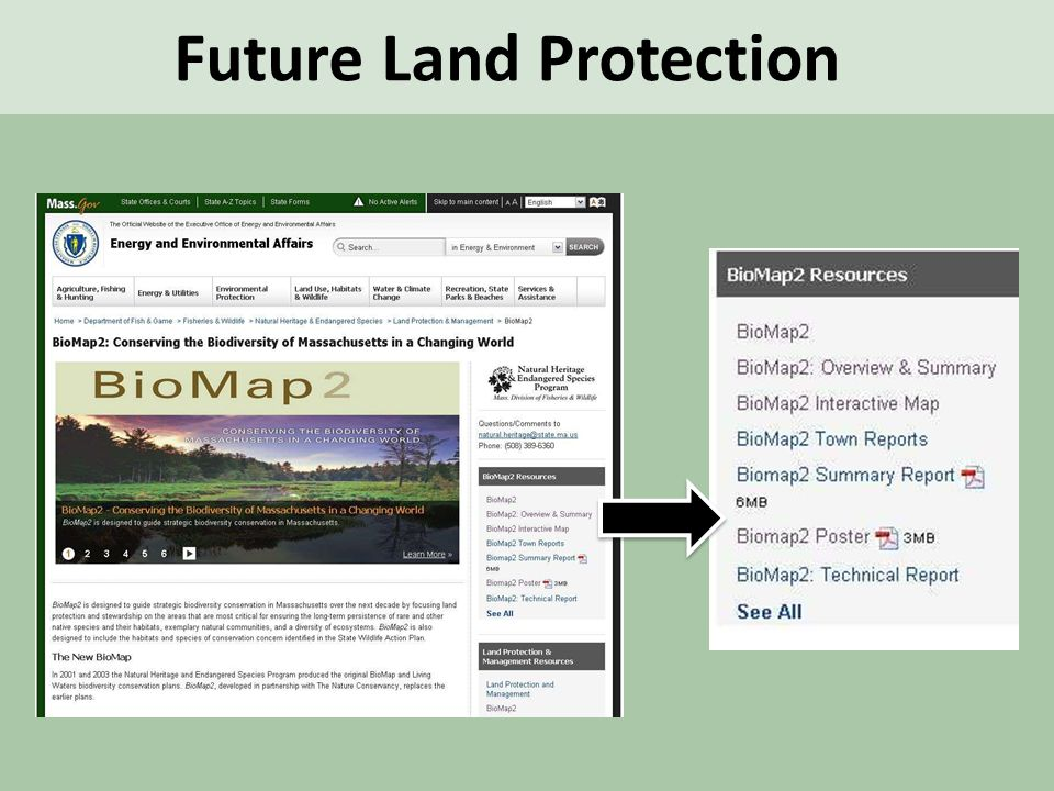 Future Land Protection