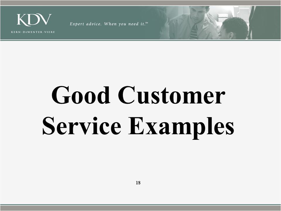Good Customer Service Examples 18