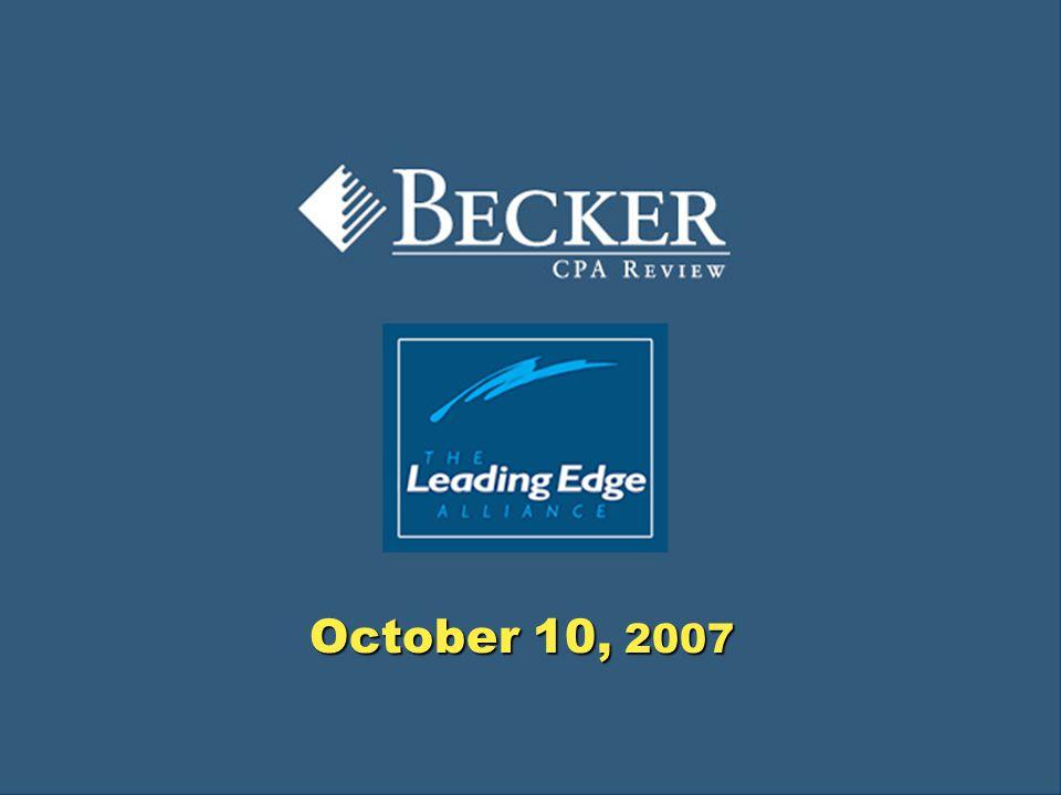 1 October 10, 2007