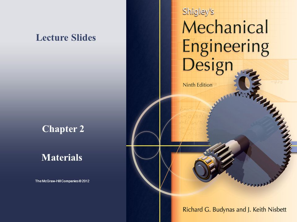 Minimum Mass Guidelines for Young's Modulus-Density Plot Shigley's Mechanical Engineering Design Guidelines plot constant values of E  /   depends on type of loading  = 1 for axial  = 1/2 for bending Example, for axial loading, k = AE/l  A = kl/E m = Al  = (kl/E) l  =kl 2  /E Thus, to minimize mass, maximize E/  (  = 1) Fig.