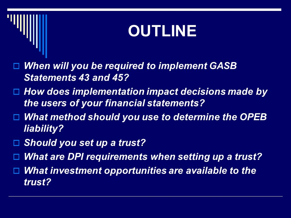 What investment opportunities are available to the trust.