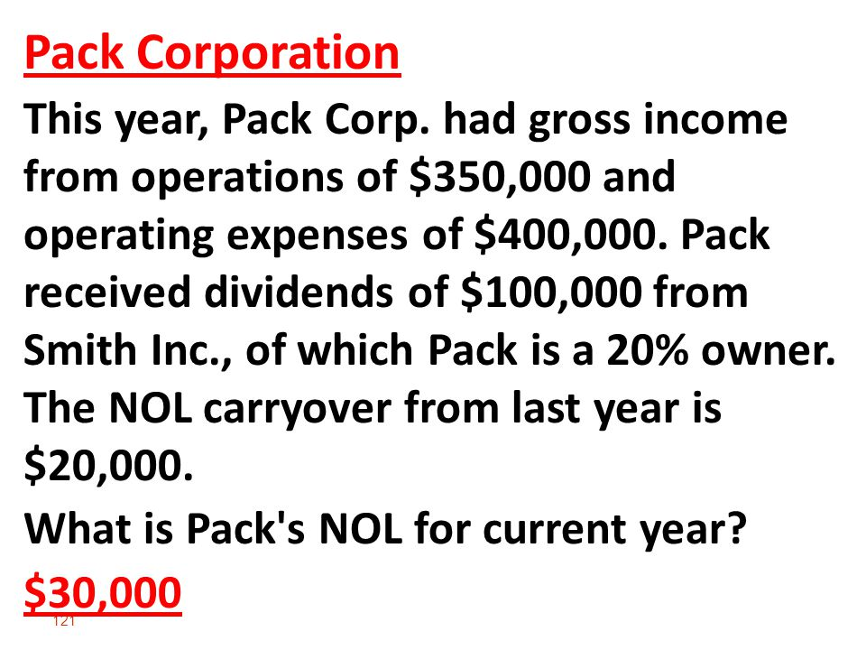 121 Pack Corporation This year, Pack Corp.