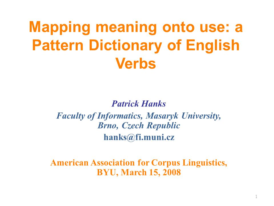 How is a Pattern Dictionary different from Pattern Grammar.