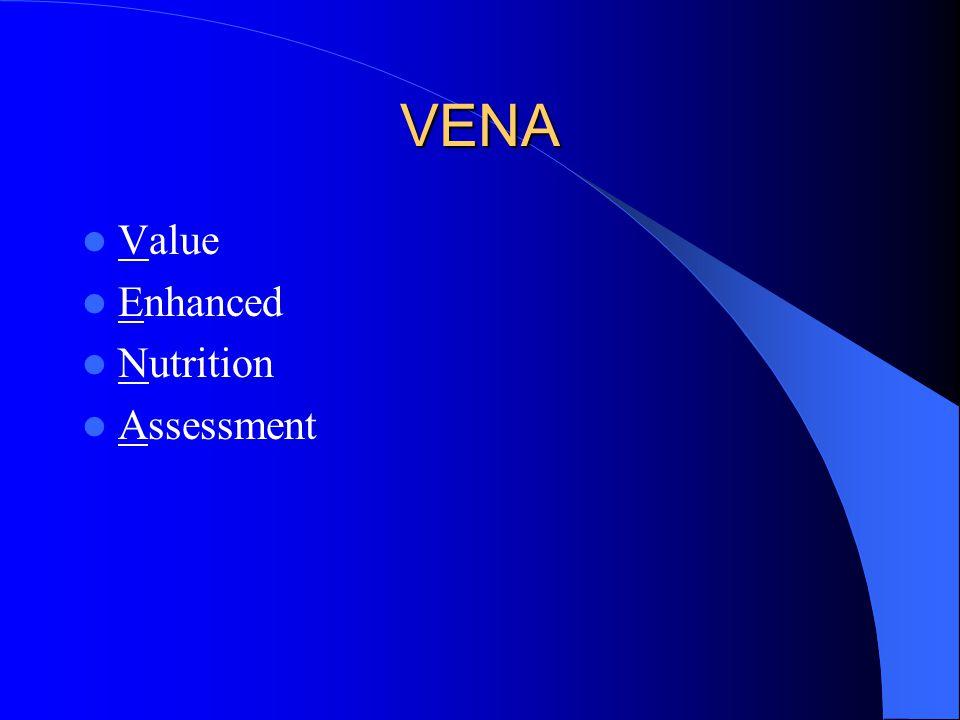 VENA Value Enhanced Nutrition Assessment