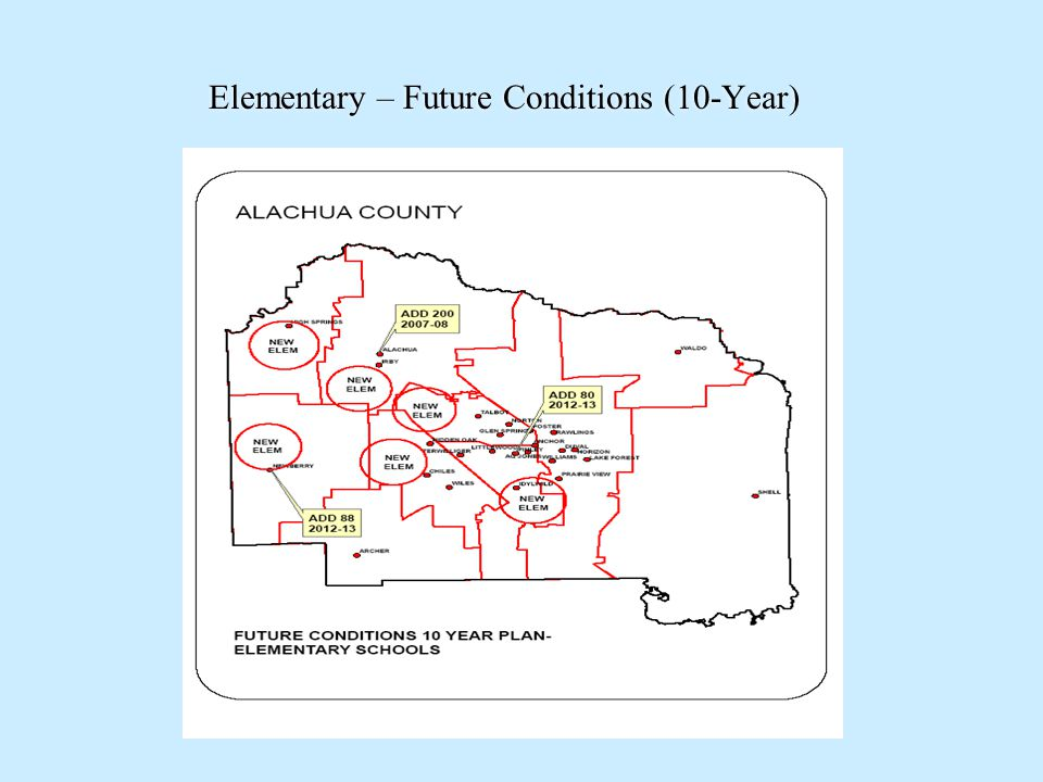 Elementary – Future Conditions (10-Year)