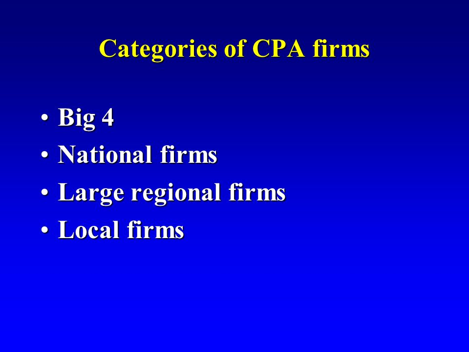 Data for Largest CPA Firms Fiscal Year 2007 Revenue Prof.