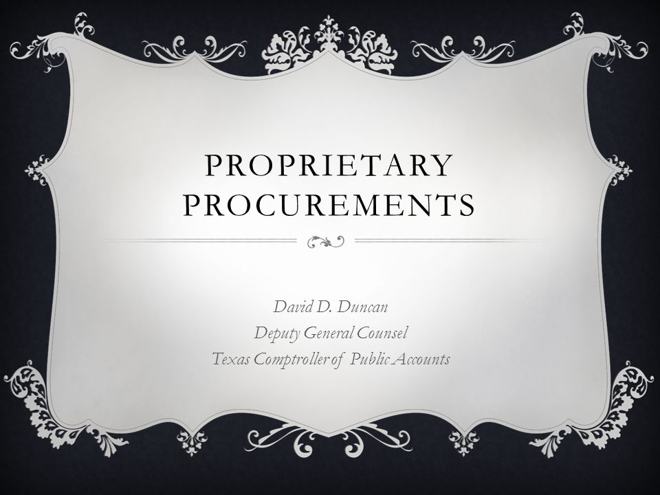 PROPRIETARY  What does it mean.