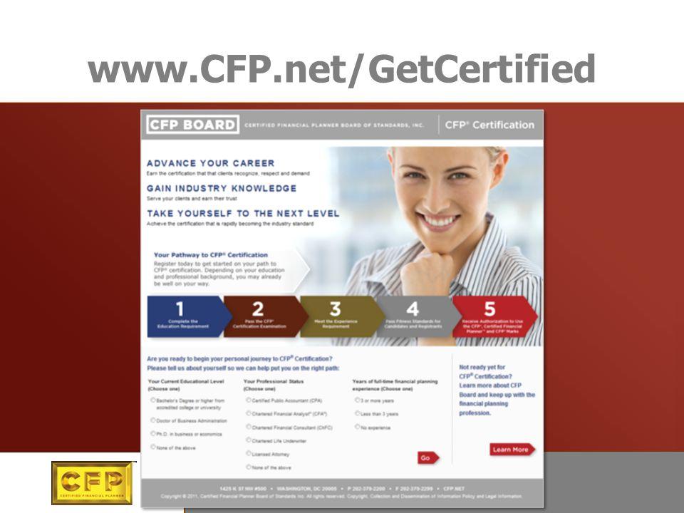 www.CFP.net/GetCertified