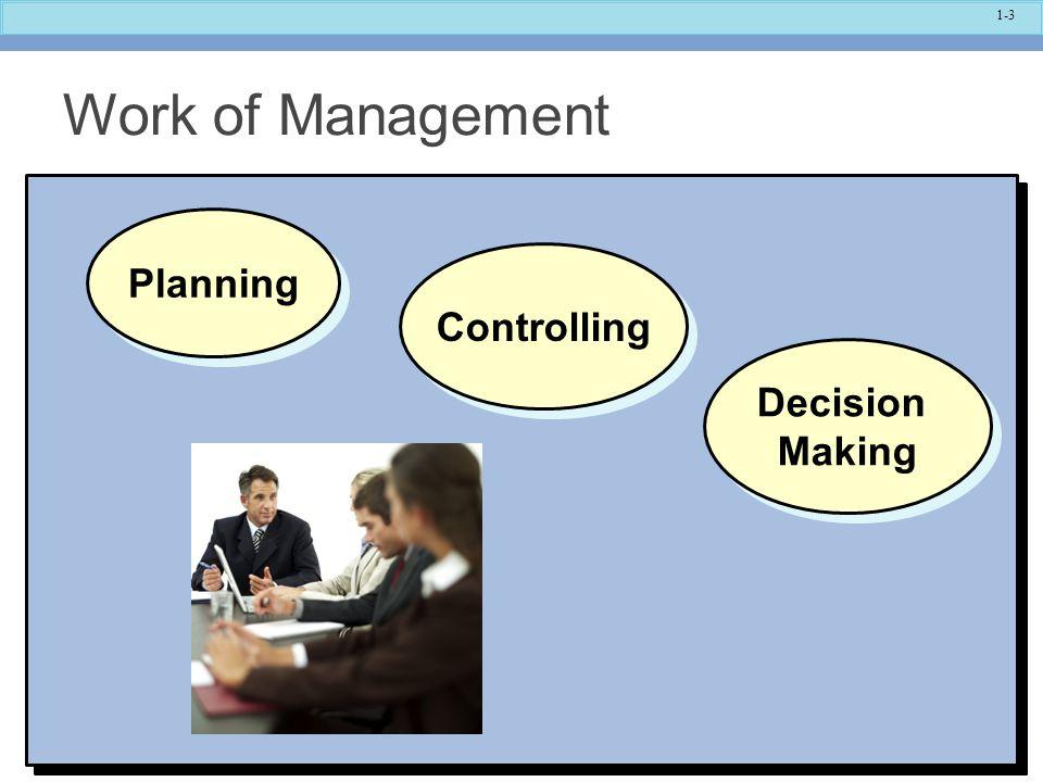 1-4 Planning Establish Goals.Specify How Goals Will Be Achieved.