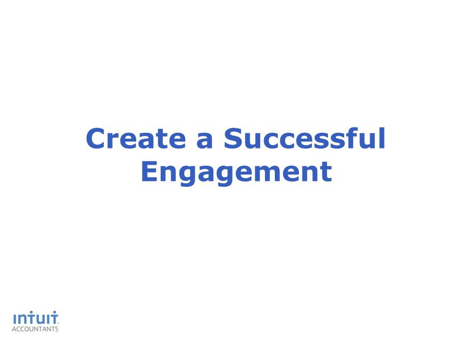 Create a Successful Engagement