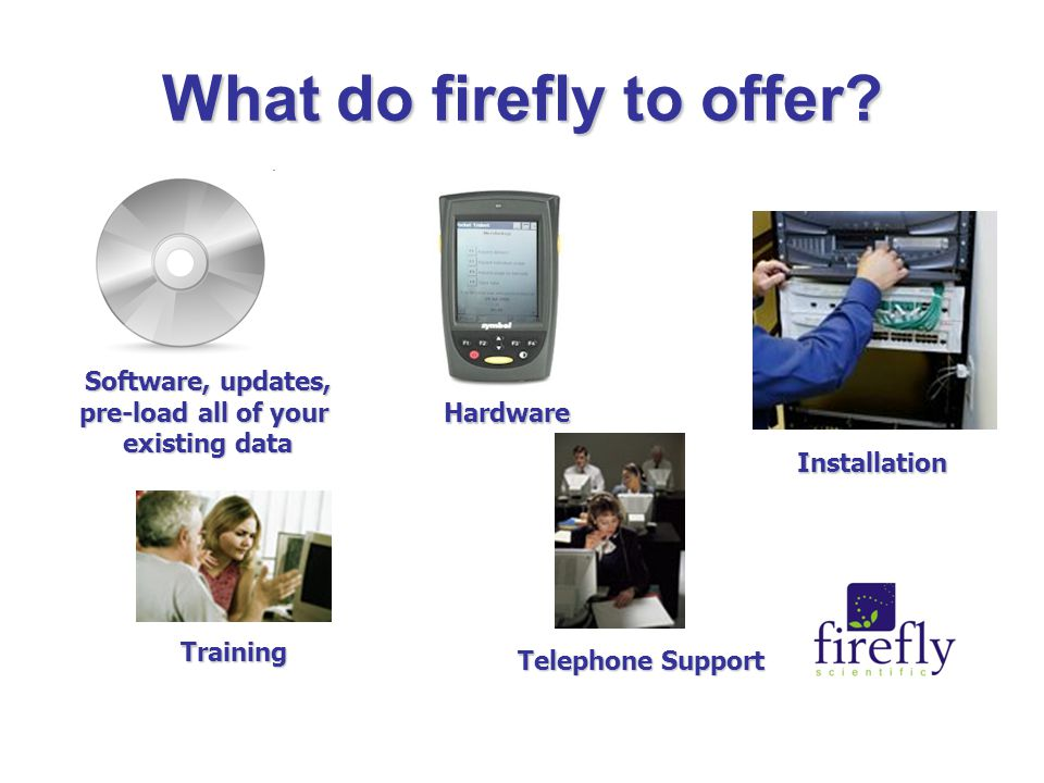 What do firefly to offer.