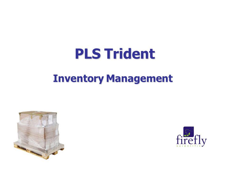 PLS Trident Inventory Management