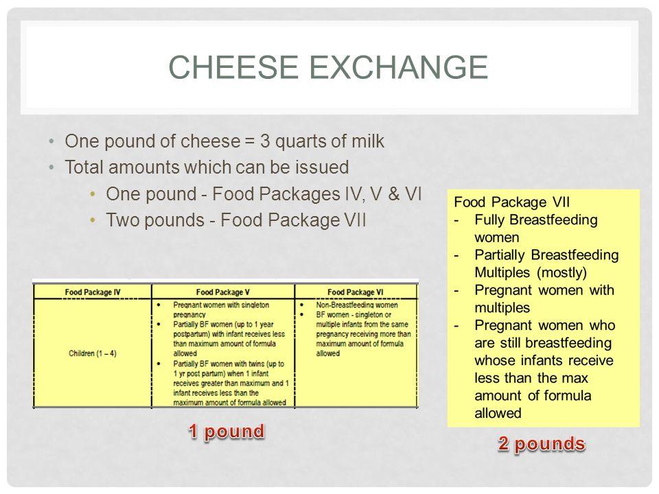 SOY-BASED BEVERAGE EXCHANGE 1 half-gallon of soy milk = 2 quarts of milk