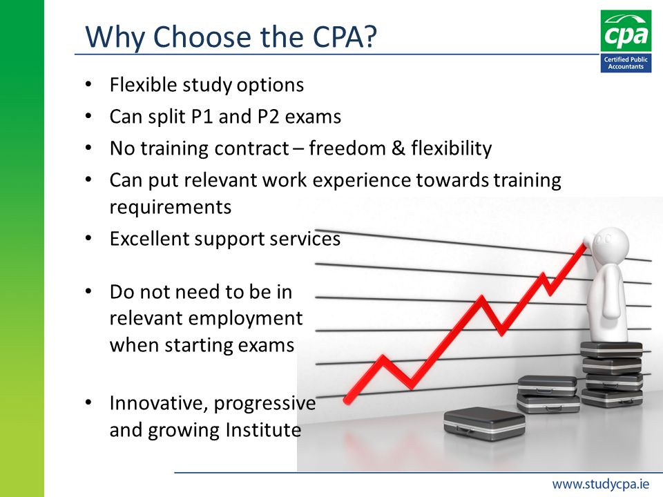 Why Choose the CPA.
