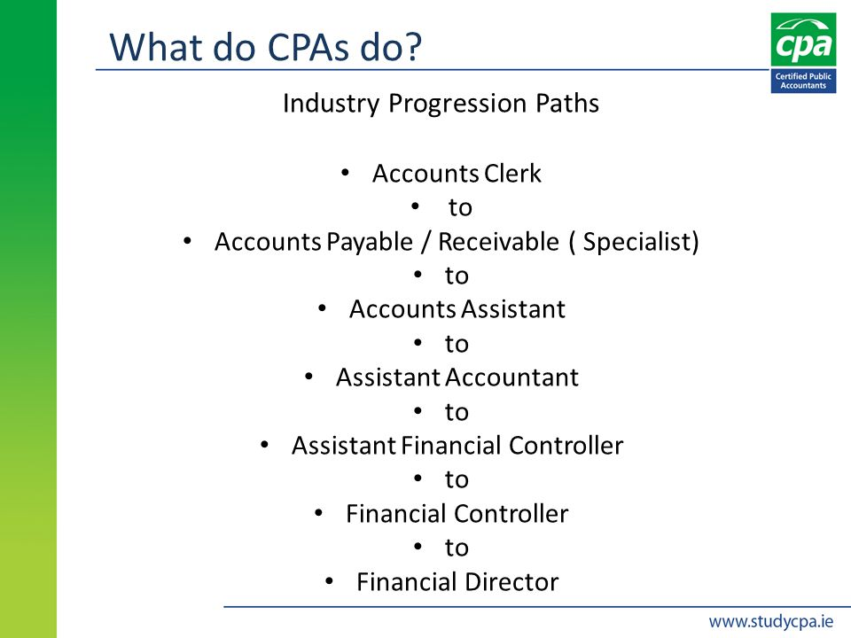 What do CPAs do.
