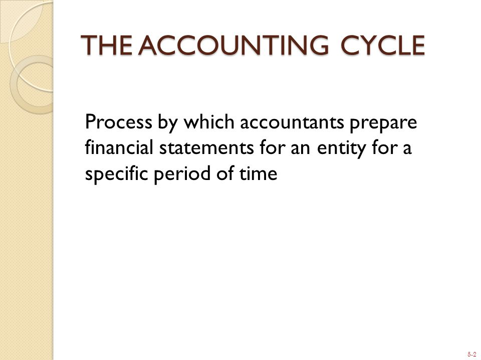 5-23 23 C) AFTER-CLOSING TRIAL BALANCE The final Trial Balance after closing will display only permanent, balance sheet accounts.