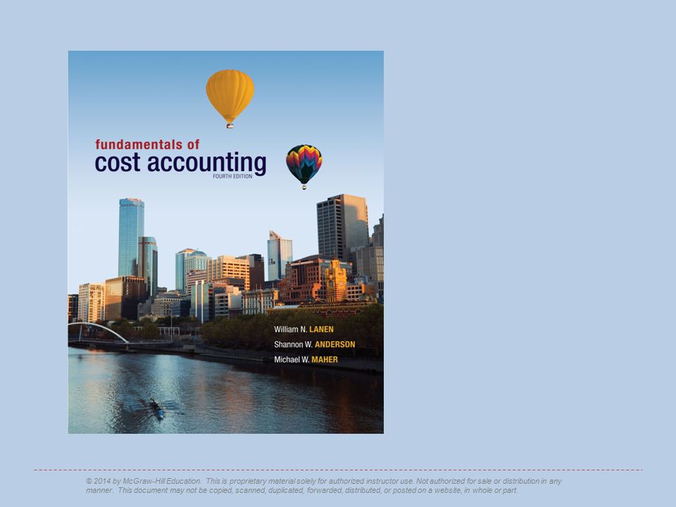 2-32 Making Cost Information Useful LO 2-7 Understand the distinction between financial and contribution margin income statements.