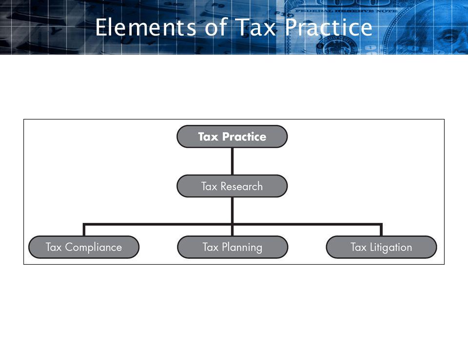 Elements of Tax Practice