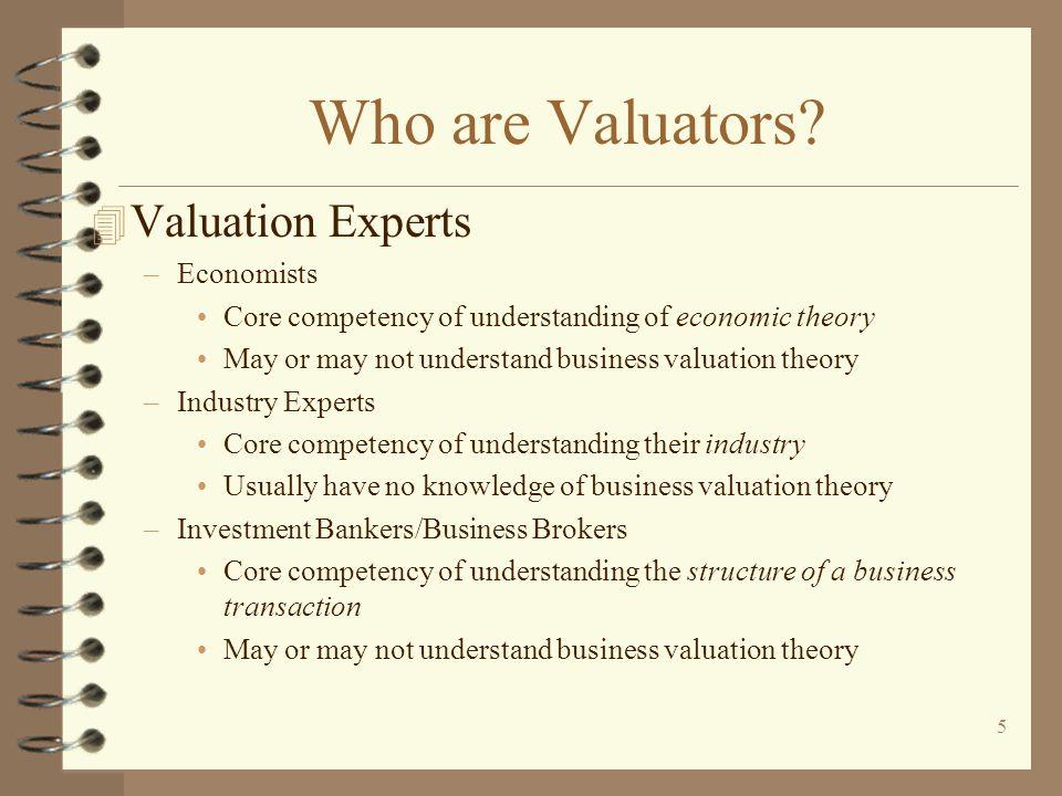 5 Who are Valuators.