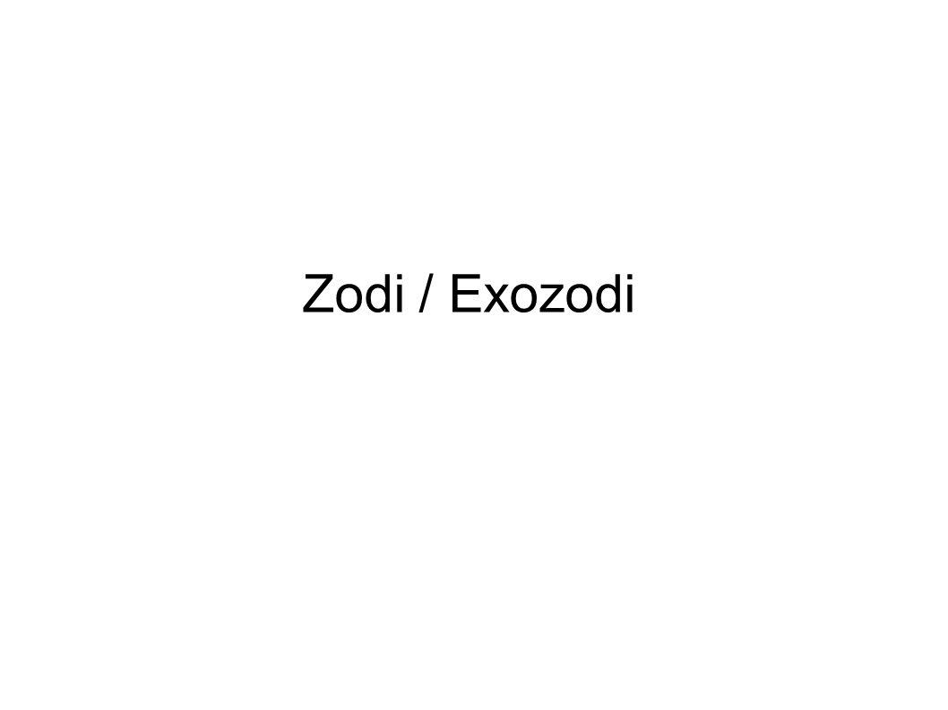 Zodi / Exozodi