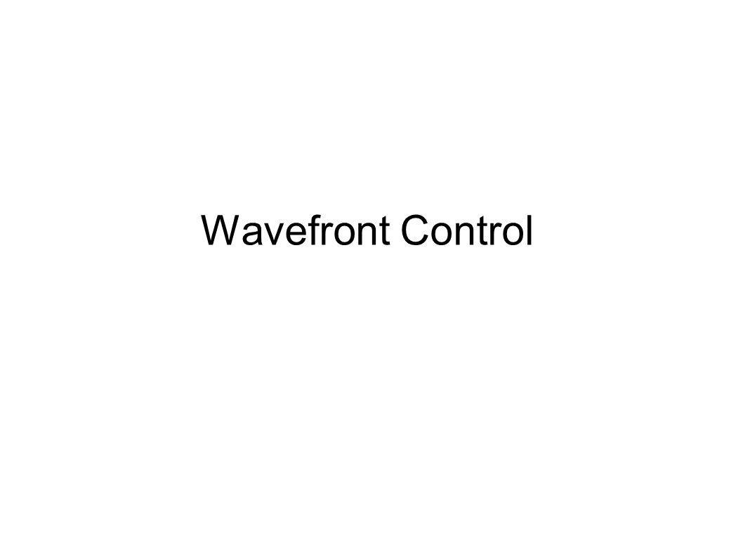 Wavefront Control