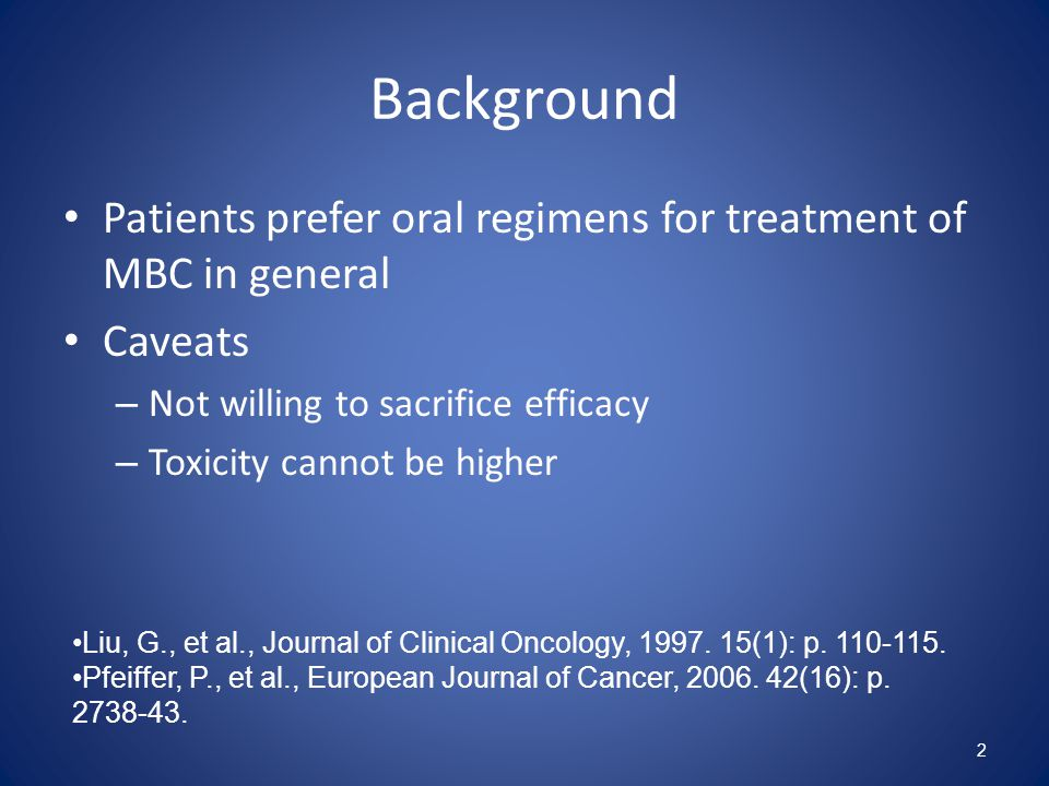 Single Agent Versus Combination Chemotherapy Regimens Combinations regimens: – Typically have higher response rates, time to progression, and progression free survival – Toxicity higher – Cost higher – Overall survival benefit not often achieved True synergistic interaction may have the potential to increase survival 3