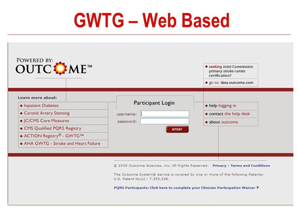 GWTG – Web Based