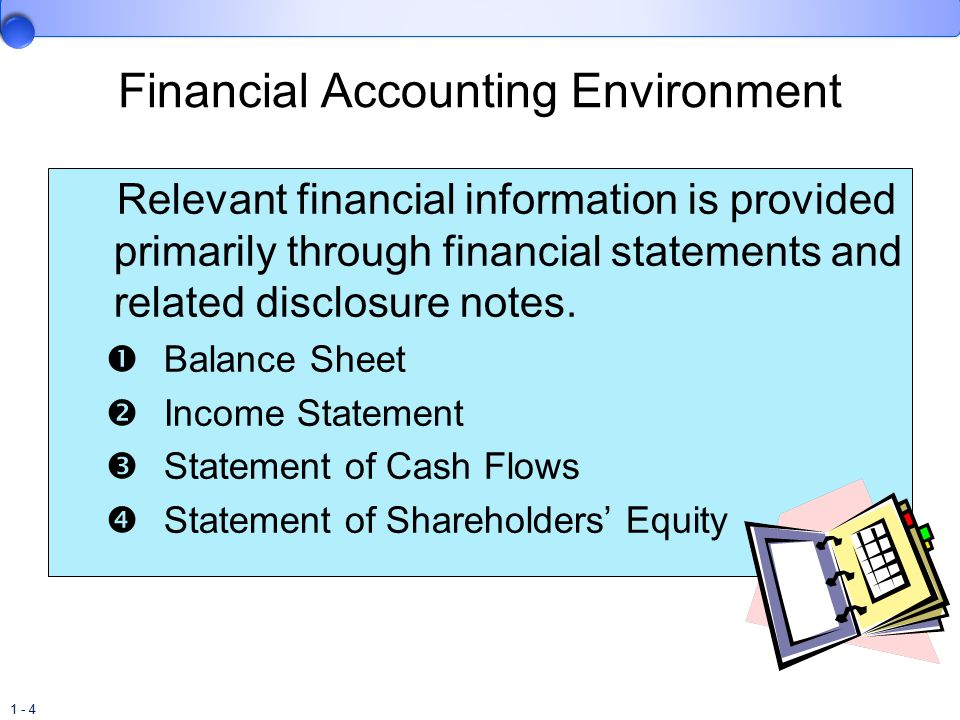 1 - 25 Objective To provide financial information that is useful to capital providers.