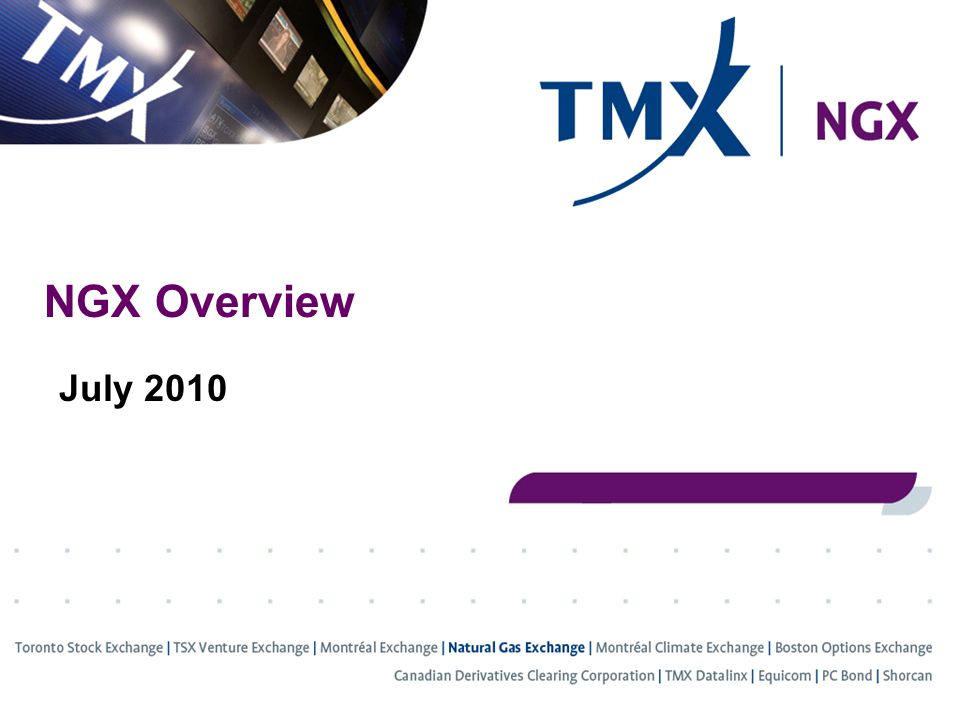 Click to edit Master title style NGX Overview July 2010