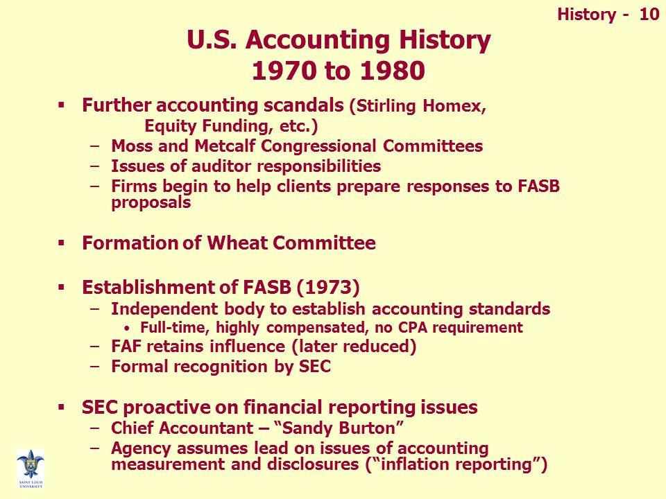 History - 10 U.S.