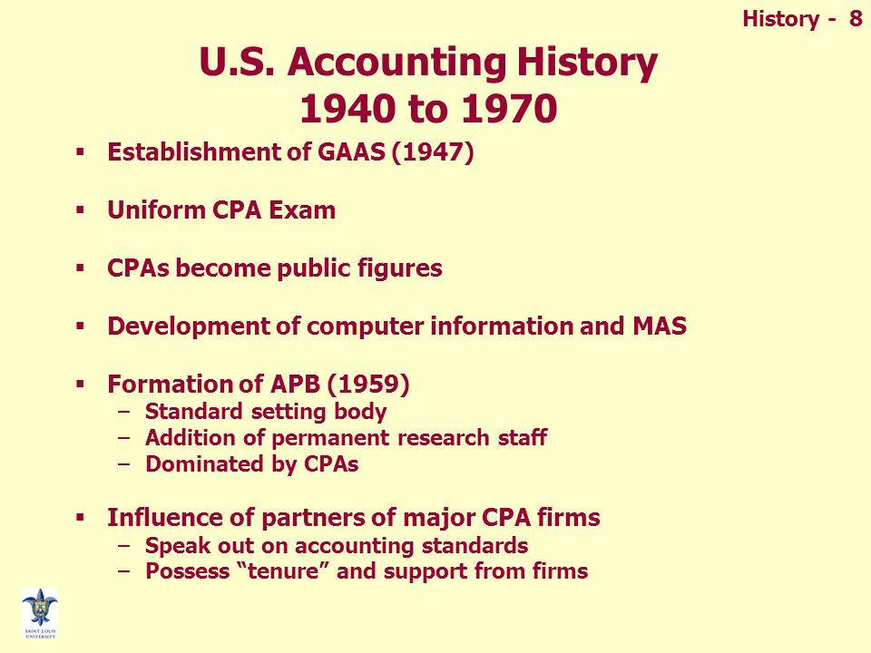 History - 8 U.S.