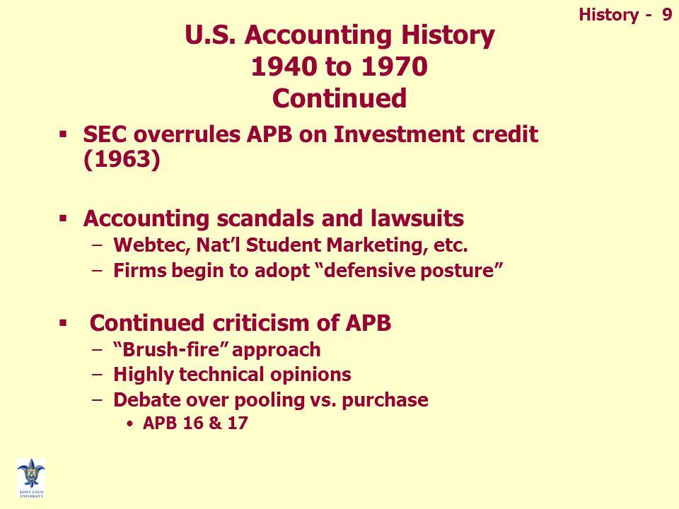 History - 9 U.S.