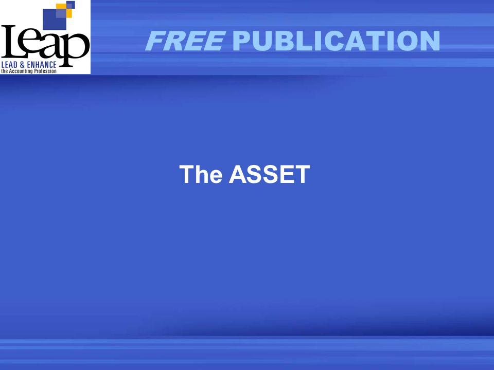 The ASSET FREE PUBLICATION