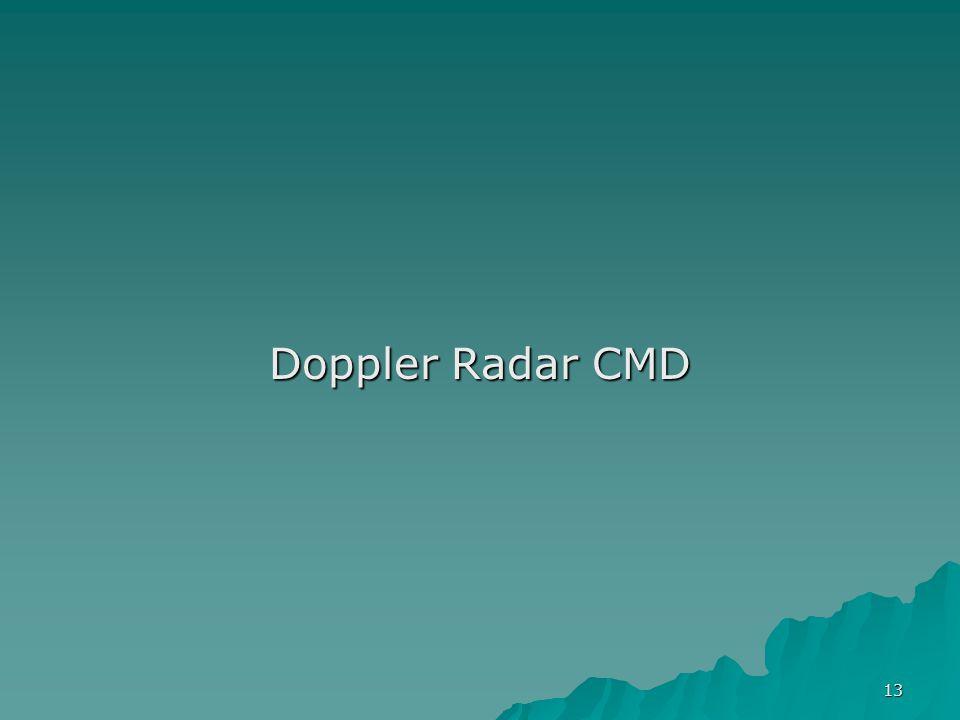 13 Doppler Radar CMD