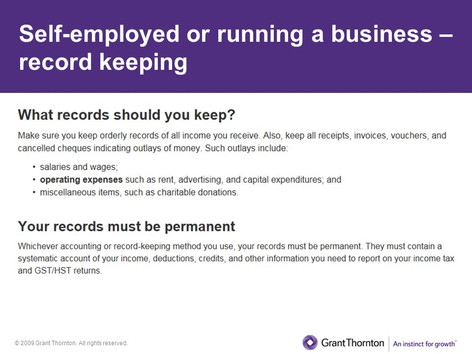 © 2009 Grant Thornton.All rights reserved. Incorporation Who can incorporate.