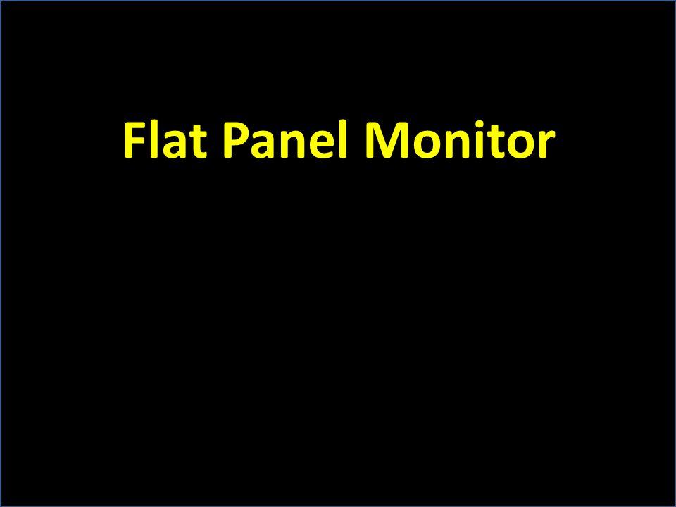 Flat Panel Monitor