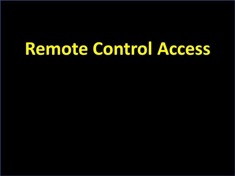 Remote Control Access