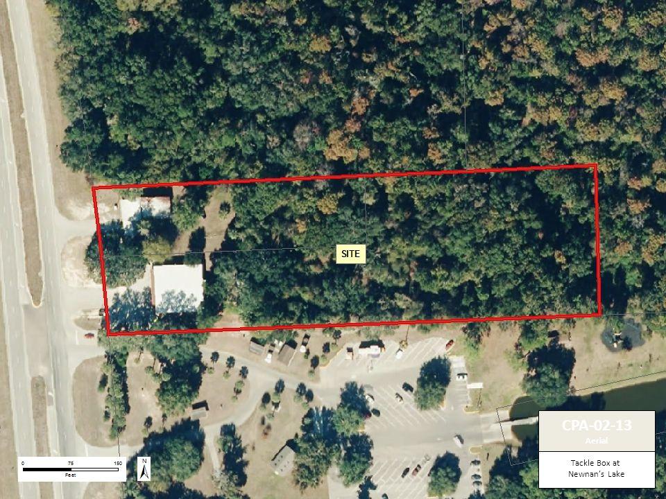Tackle Box at Newnan's Lake CPA-02-13 Aerial